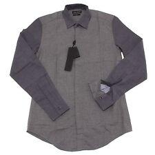 4565O camicia uomo ANTONY MORATO manica lunga grigio shirt men