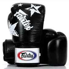 FAIRTEX MUAY THAI KICK BOXING MMA GLOVES BGV1 BLACK NATION PRINT COLLECTION