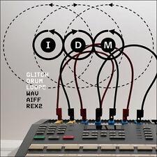 EDM IDM Glitch Electro Drum Loops WAV, AIFF REX2 cubase logic reason fl studio