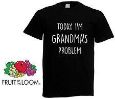 Today I'm Grans Grandma Nana -  Girls Boys Gift Kids Funny T shirt Top