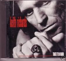 "KEITH RICHARDS ""Take It So Hard"" 1 Track PROMO CD USA"