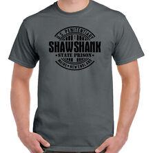 Shawshank Redemption Homme Rétro Film T-shirt 90 S Film de Stephen King prison T...