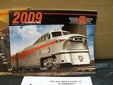 MTH DCS Trains Yr 2009 Volume Two Full Color Premier & Railking O Scale Catalog