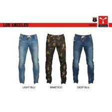 6dbc7af420adbd Pantalone DENIM LOS ANGELES PAYPER uomo taglio classico con elastico in  vita den