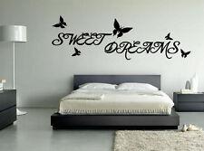 SWEET Dreams Parete Arte Citazione Adesivo-cucina salotto camera da letto Amore Decalcomania!!!