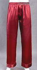 New Men Satin Silk Pajama Sleep Lounge Pants M L XL 2XL Multi-Color Silkpeace