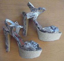 NEXT New Snakeprint Platform Sandals Sizes 5/5.5/6/6.5/7 RRP £28
