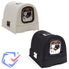 Curver Pet Life Toilettes de chat beige/graphite Plastique électroménager animal