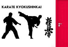 Wall Sticker Karate Kyoshinkay Martial Arts Fighters Oriental Cool Decor (z2556)
