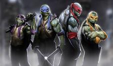 140 Teenage Mutant Ninja Turtles PLAY MAT CUSTOM ANIME PLAYMAT FREE SHIPPING