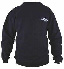 """Security-Sweatshirt mit """"Security""""-Aufdruck im Brust und Rückenbereich Baumwolle"""