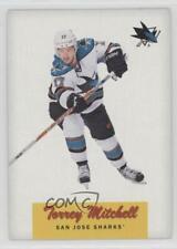 2012-13 O-Pee-Chee Retro #36 Torrey Mitchell San Jose Sharks Hockey Card