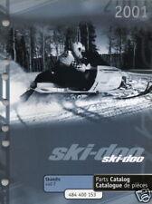 2001 SKI-DOO SNOWMOBILE SKANDIC 440F  PARTS MANUAL NEW