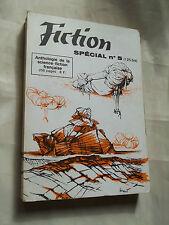 """REVUE """"FICTION SPECIAL N° 5""""  (1964) SCIENCE-FICTION FRANCAISE / SIGNé"""