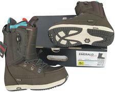 NEW! Burton Emerald Restricted Womens Snowboard Boots!   *Deep Brown*
