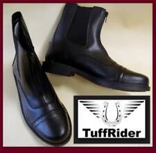 Black Riding Paddock Boots Zipup TuffRider All Season Starter Beginner Kid Youth