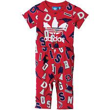 adidas Originals Kinder-Jumpsuit Overall Onesie Onepiece Einteiler Jumper Anzug