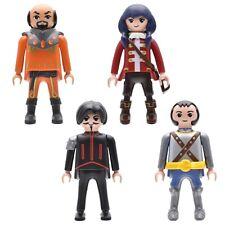 playmobil® Super 4 Figuren |Grimmagus |Ruby |Schwarzer Baron | Sir Gareth