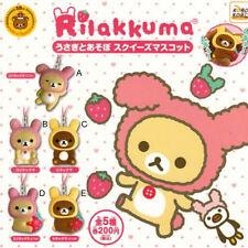 *Official* Rilakkuma Korilakkuma Usagi Rabbit Squishy Squeeze Mascot (Gashapon)