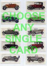 Lambert & Butler, Motor Cars, A Series (Green Back) 1922  CHOOSE ANY (SS001)