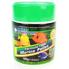 Ocean Nutrition Formula Two Marine Pellets 100g 200g 400g Quality Reef Fish Food