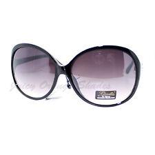 Womens Stylish Oversized Round Sunglasses UV 400 Protection