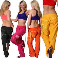 Dance pantalon samba inscriptions fitness sport pants danser tanzhose cargo pantalon
