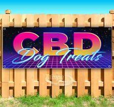 CBD Dog Treats Advertising Vinyl Banner Flag Sign Many Sizes Available USA