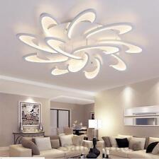 Modern LED White Acrylic Ceiling Lights for Living Room Bedroom Chandelier Hot