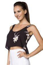 Vêtements femmes été tête coupe courte trendy chic imaginaire floral UY 60008