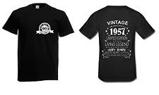 Herren T-Shirt 60. Geburtstag Happy Birthday Alles Gute Wiegenfest bis 5XL