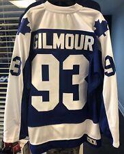 Men's Toronto Maple Leafs Adidas Doug Gilmour 1978 Authentic Pro Blue Jersey