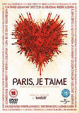 Paris, Je T'aime DVD (2008) BRAND NEW SEALED FREEPOST
