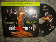 2012 WB THE BIG BANG THEORY EMMY DVD 2 EPISODES KALEY CUOCO JIM PARSONS