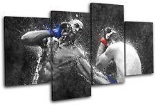 Jon Jones Shogun Rua UFC Grunge Sports MULTI CANVAS WALL ART Picture Print