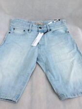 Calvin Klein Men's Jeans - Travis taper shorts crystal blue very light 33in