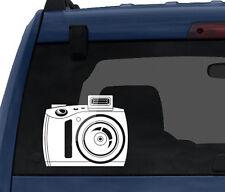 Photography #1 - Flash Film Digital Camera Silhouette  - Car Tablet Vinyl Decal