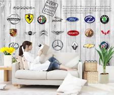 3D Luxury Car Logos 73 Wall Paper Murals Wall Print Wall Wallpaper Mural AU Kyra