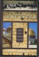 Book, A History of Jerusalem 1 City 3 Faiths FREEUKPOST