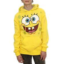 SpongeBob Face Adult Hoodie New