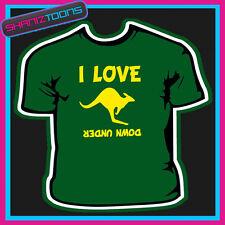 I Love CANGURO's Down Under in Australia T-shirt