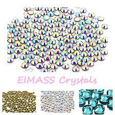 1440 X eimass ® Hotfix bajo precio Premium Dmc Cristales de vidrio, piso Trasero Gemas, 7767