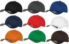 Original FLEXFIT® Basecap Baseball Cap Mütze Kappe in verschiedenen Farben NEU