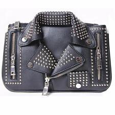 Designer Motorcycle Jacket Shoulder Bag