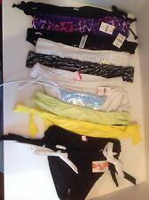 Victoria's Secret Swimwear Bikini Hipkini Solid Print XS S M L Assorted Bottoms