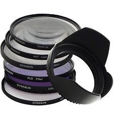 Dynasun Filtro Ultravioleta + Skylight + CPL + Star + CloseUp + Parasol + FLD