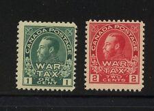 Canada  MR1, MR2  Mint  NH       catalog  $120.00