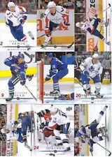 NHL 2008-09 Upper Deck  Series 1 Cards U-Pick Lot of 4