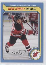 2008-09 O-Pee-Chee Retro #420 David Clarkson New Jersey Devils Hockey Card