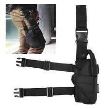 Tactical Wrap-around Thigh Leg Pistol Gun Holster Pouch Holster New Adjustable H